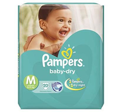 Pampers Tapes Medium 20s Diaper (Economy Pack) 6-11 KG - PM0110