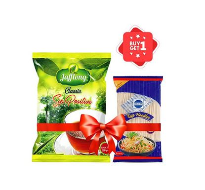 Buy 1 Jafflong Classic Tea 200gm & Get 1 Orion Stick Noodles 180gm Free
