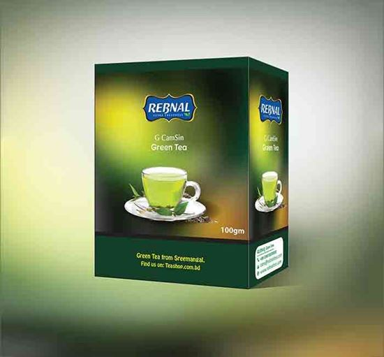 REBNAL G CamSin Green Tea - 100 GM