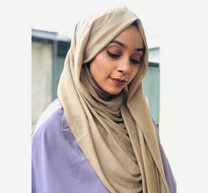 Cotton Solid Hijab (Scarf) - T037