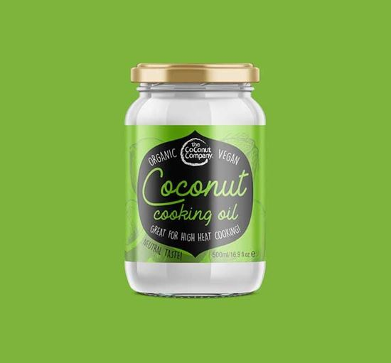 Organic Coconut Cooking Oil - 500ml