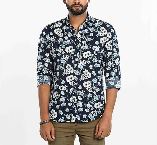 Allover Floral Printed Shirt for Men RN-MEH-SS20-SM567