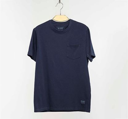 Muscle Fit Half Sleeve T-shirt NVY RN-AL-SS20-MT427