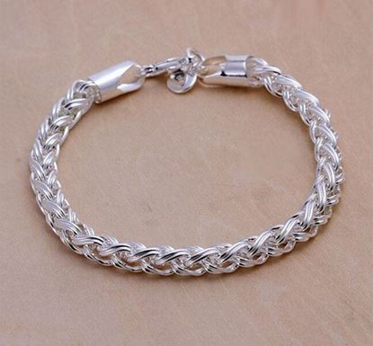 Curb Cuban Link Chain Stainless Steel Bracelet FB-26