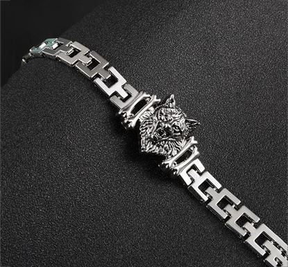 Elegant Heart Bangle Wristband Cuff for Women MB-04
