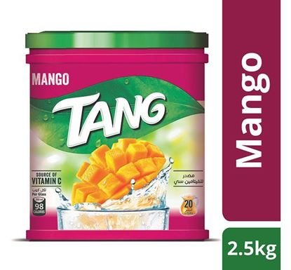 Tang Mango Flavoured Instant Drink Powder 2.5 KG