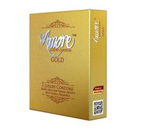Amore Gold 3 Luxury Condom - 3 Pieces Pack