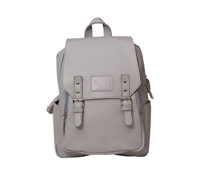 Leather Backpack for Ladies RB-102 GRA