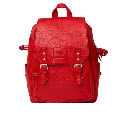 Leather Backpack for Ladies RB-102 RE