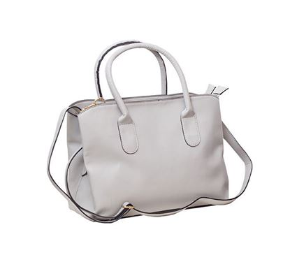 Leather Hand Bag for Ladies RB-105 GRA