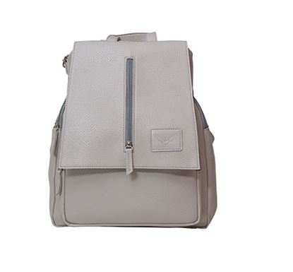 Leather Backpack for Ladies RB-115 GRA