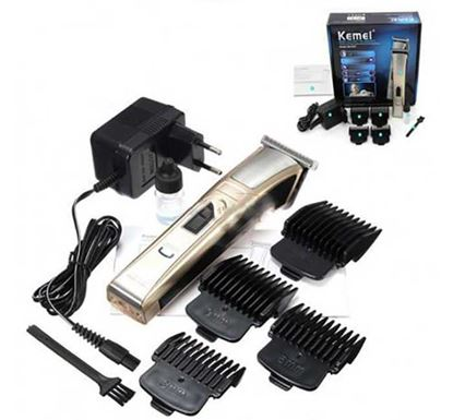 Kemei KM 5017 Rechargeable Electric Hair Trimmer Clipper