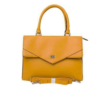 Leather Shoulder Bag for Ladies RB-174 YELL