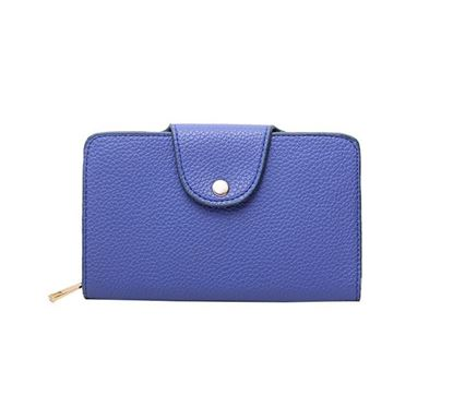 Leather Hand Purse for Ladies RB-179-03 BLU