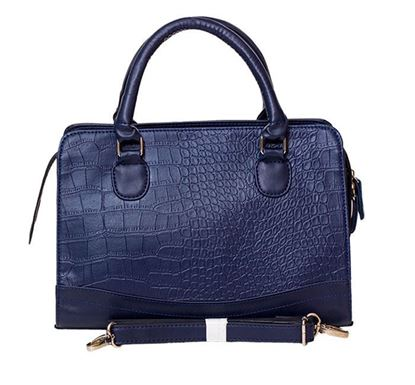 Leather Hand Bag for Ladies RB-187 NAV