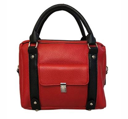 Leather Hand Bag for Ladies RB-316 RE