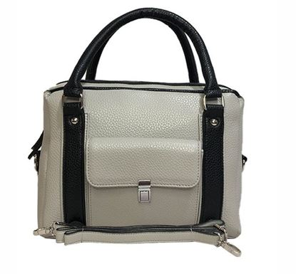 Leather Hand Bag for Ladies RB-316 GRA