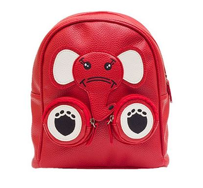 Leather Backpack for Kids RB-201 RE