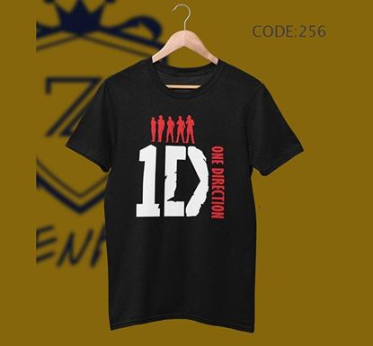 One Direction Half Sleeve Cotton T-shirt ZNTH-256