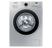 Samsung Front Loading Washing Machine with Eco-Bubble WW80J4213GS/TL - 8.0 KG