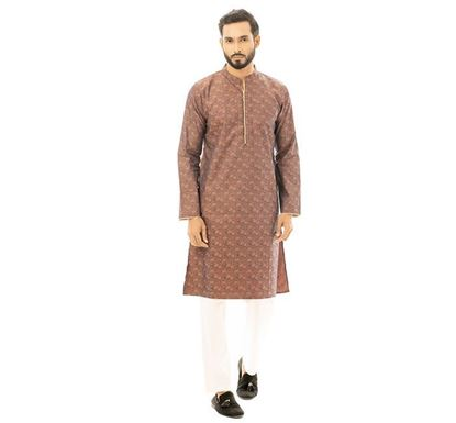 Twelve Clothing Blended Punjabi for Men BRN PH-PANB-TM21-05F-0182