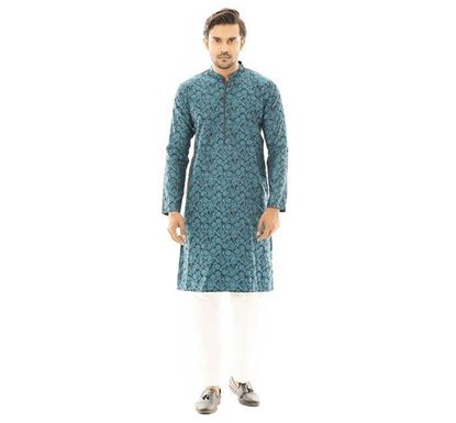 Twelve Clothing Blended Punjabi for Men GRN PH-PANB-TM21-05F-0182