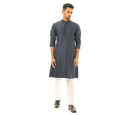 Twelve Clothing Cotton Punjabi for Men NVY PH-PAN-E-TM20-05F-0420