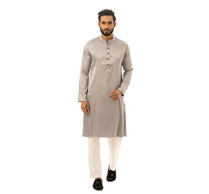 Twelve Clothing Cotton Punjabi for Men ASH PH-PAN-E-TM20-05F-502