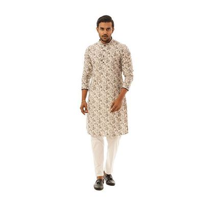 Twelve Clothing Blended Punjabi for Men BRN JS-PAN-B-TM20-05F-0491