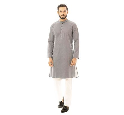 Twelve Clothing Cotton Punjabi for Men NVYPRNT RK-PAN-B-TM20-05F-0566