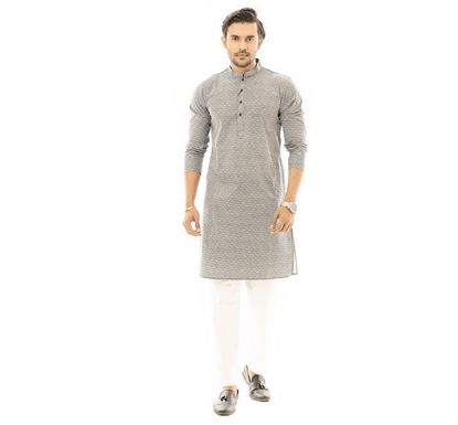 Twelve Clothing Cotton Punjabi for Men NVYPRNT2 RK-PAN-B-TM20-05F-0566