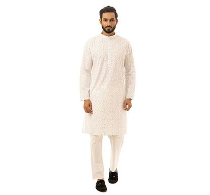 Twelve Clothing Cotton Punjabi for Men WTE RK-PAN-B-TM20-05F-0566