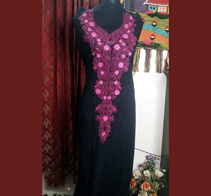 Cotton with Embroidery Unstitched Single Piece Kamiz HOFBD 47