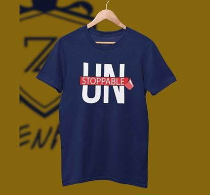 Unstoppable Half Sleeve T-shirt ZNTH-173