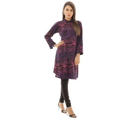Twelve Clothing Cotton Kurti for Women PRPL RA-KUR-TW20-05F-0480