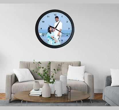 One Picture Wall Clock - 24315