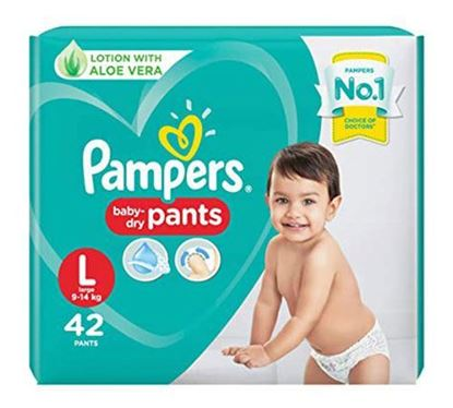 Pampers Diaper Pants Large 42 Pieces (Jumbo Pack) - PM0112
