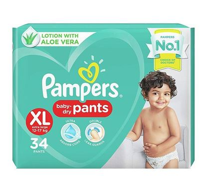 Pampers Diaper Pants Extra Large 34 Pieces - PM0113