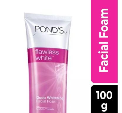 Pond's Flawless White Deep Whitening Facial Foam 100gm - 20254008