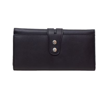 Leather Hand Purse for Ladies RB-308 BLK