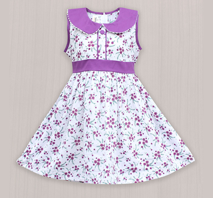 Diganta Cotton Frock for Baby Girl SF-484