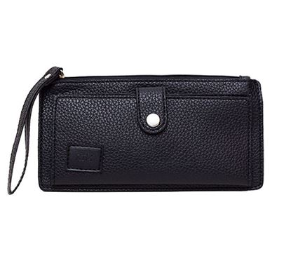 Leather Hand Purse for Ladies RB-306-01 BLK