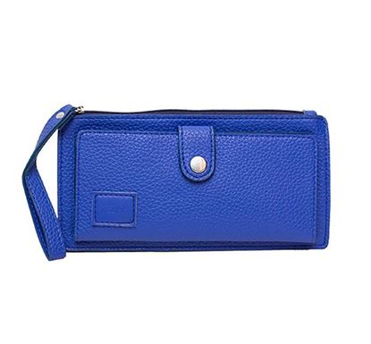 Leather Hand Purse for Ladies RB-306-01 BLU