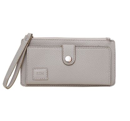 Leather Hand Purse for Ladies RB-306-01 GRA
