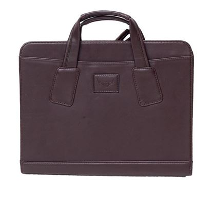Leather Laptop Bag RB-303 BROW