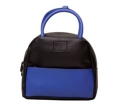 Leather Hand Bag for Ladies RB-259 BLU