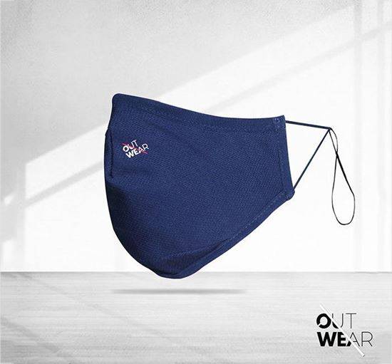 Outwear 3 Layer Mesh Fabric Mask OUT-02