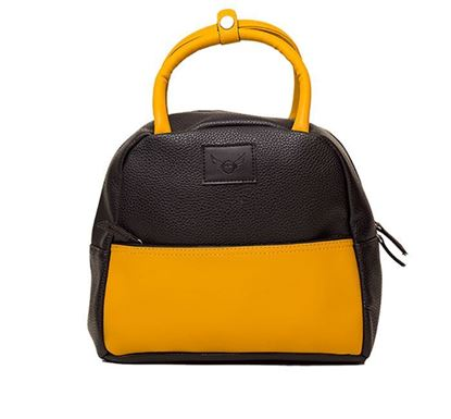Leather Hand Bag for Ladies RB-259 YELL