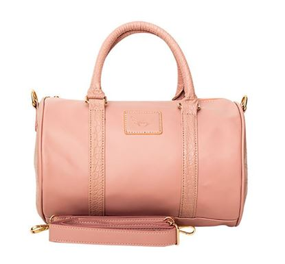 Leather Duffle Bag for Ladies RB-258 PIN