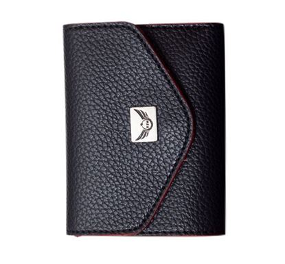 Leather Wallet for Ladies RB-323 BLK